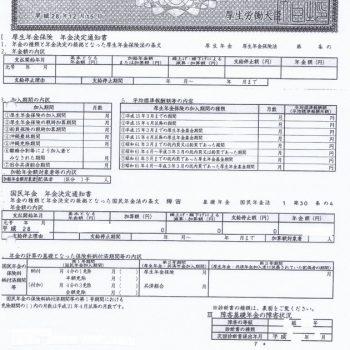 茨城県笠間市 Y様(障害基礎年金2級 事後重症請求 20代男性 軽度知的障害…診断書作成後からご依頼)