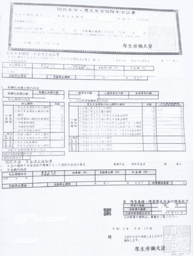 茨城県笠間市 GG様(障害厚生年金3級 事後重症請求 50代 変形性膝関節症)